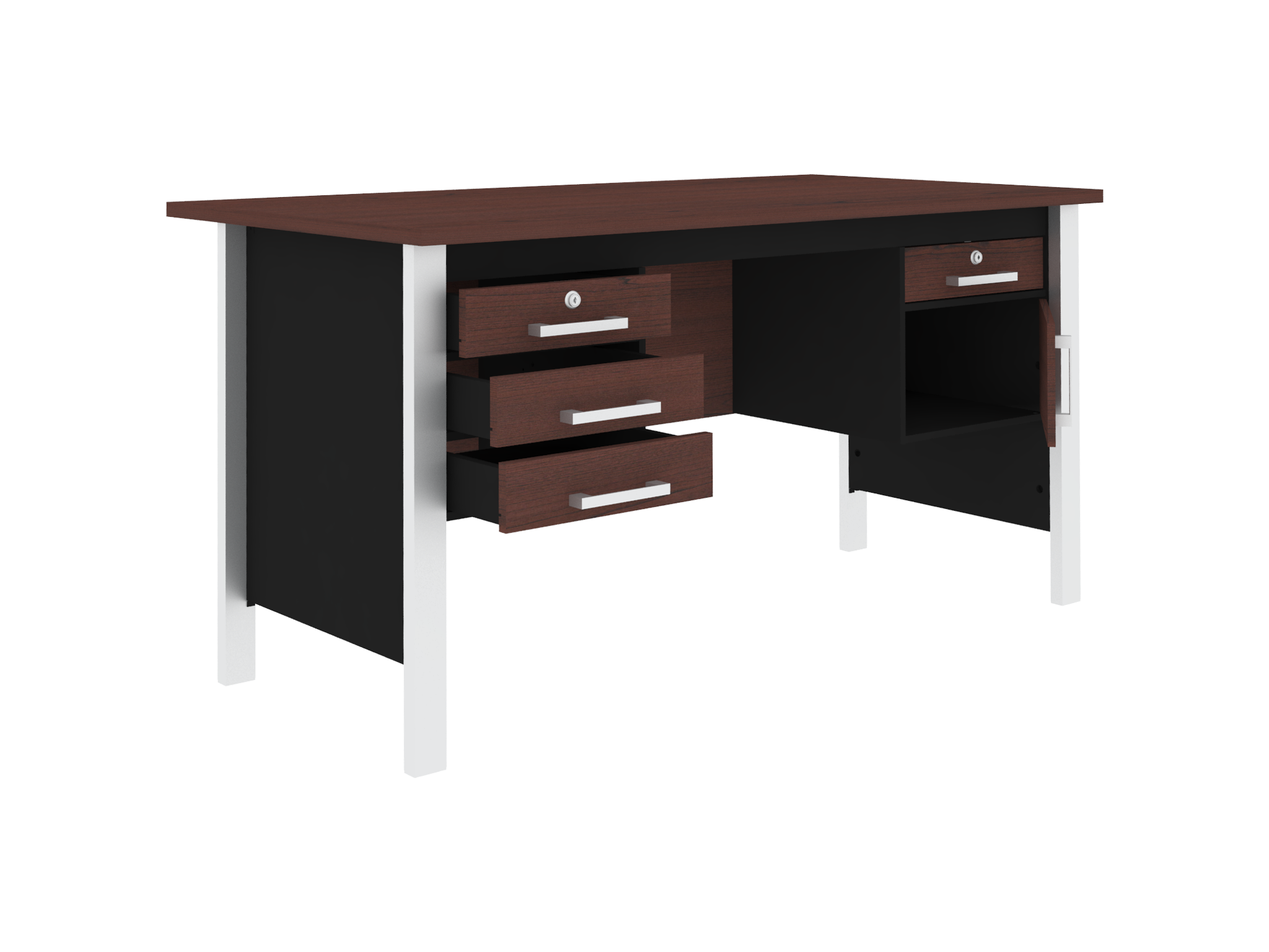 office desks with drawers. Office Desk MTM-3002 Desks With Drawers